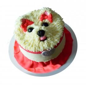 Детский торт с собачкой