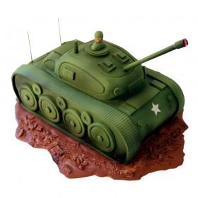 Торт на 23 февраля в форме танка