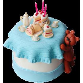 Детский торт Мишка застолье