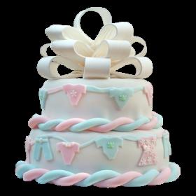 Детский торт с Бантом