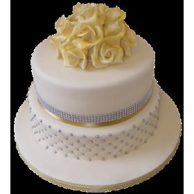 Торт Свадебный  модель 039